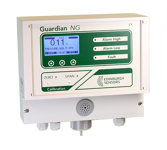 Gas detectors with 5 or more sensors